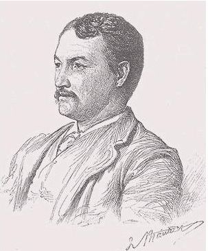 Portrait_of_Frank_Millet_by_his_contemporary,_author_and_illustrator_George_Du_Maurier,_from_Harper's_New_Monthly_Magazine_for_June_1889